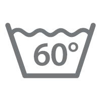 waschbar bis 60 °C